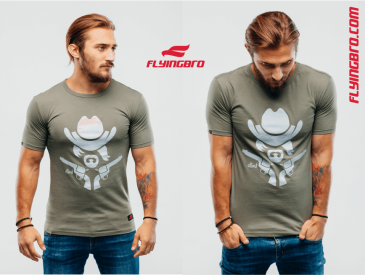 фото футболки Flyingbro милитари хаки