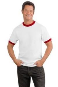 фото футболки рингер
