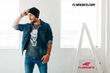 фото модной мужской футболки Flyingbro доставка Украина Киев купить