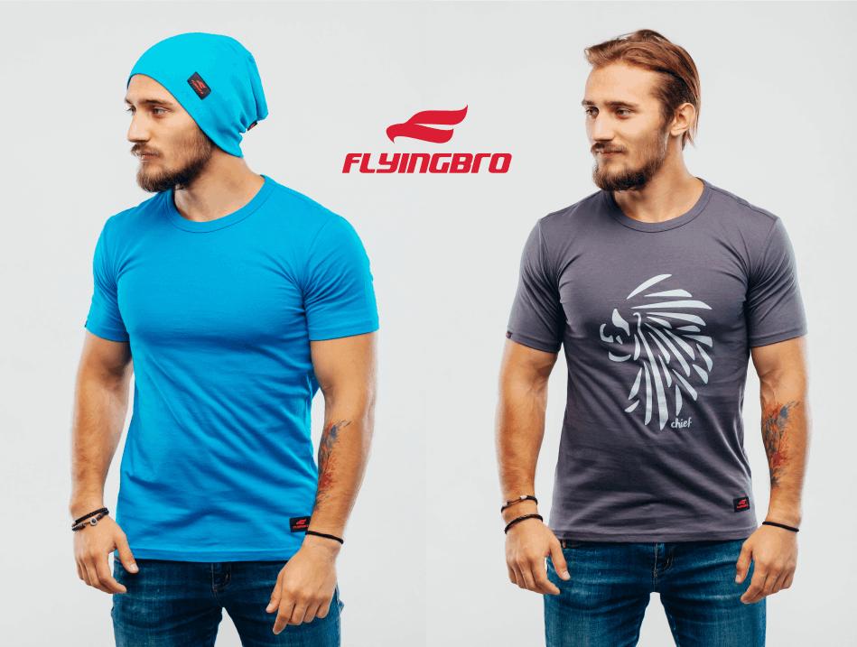фото купить футболку Flyingbro с принтом