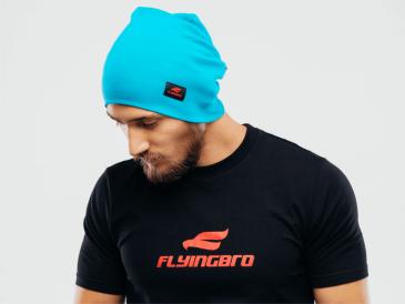 прикольная мужская футболка Flyingbro фото
