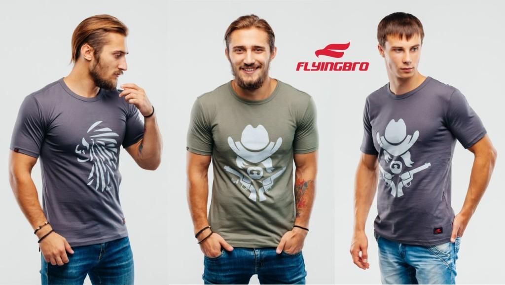 купить спортивную футболку Flyingbro фото