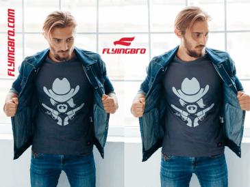 фото стильной мужской футболки Flyingbro