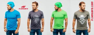 фото качественных мужских спортивных футболок Flyingbro