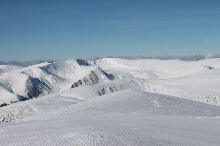 фото снега на Драгобрате