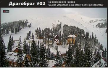 сноубордические трассы Драгобрата сегодня вид