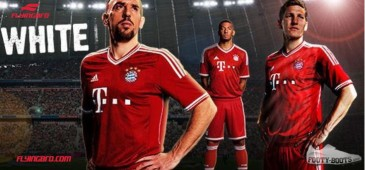 фото фирменной футболки немецкой баварии