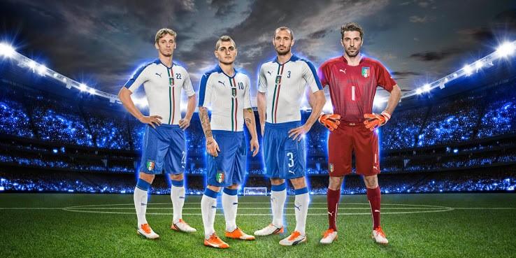 фото футбольной формы сборной италии