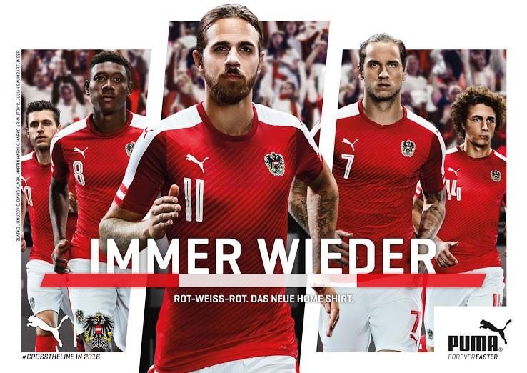 фото футбольной формы австрии