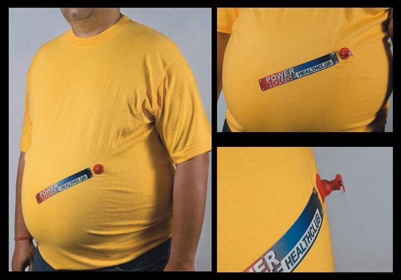 виды рекламы на футболках фото