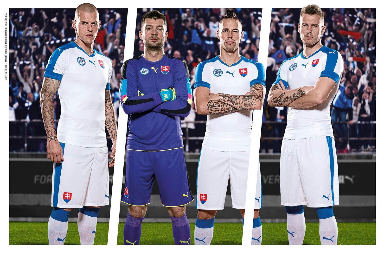 фото футбольной формы словакии