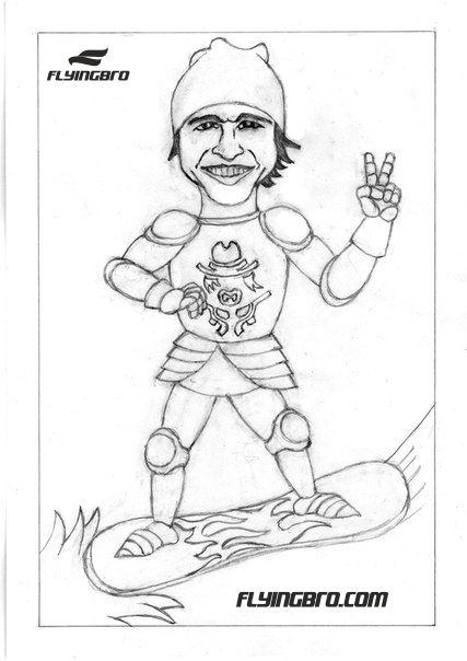 карикатура шарж на бизнесмена предпринимателя Ситайло стартапер стартап основатель Flyingbro фото