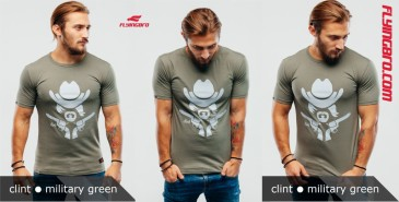 футболка мужская хаки милитари Flyingbro military clint