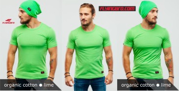 фото футболки зеленого цвета Flyingbro lime