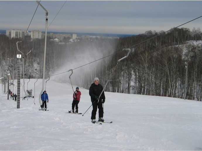фото Гвоздов под Киевом покататься на борде лыжах вместо Протаса