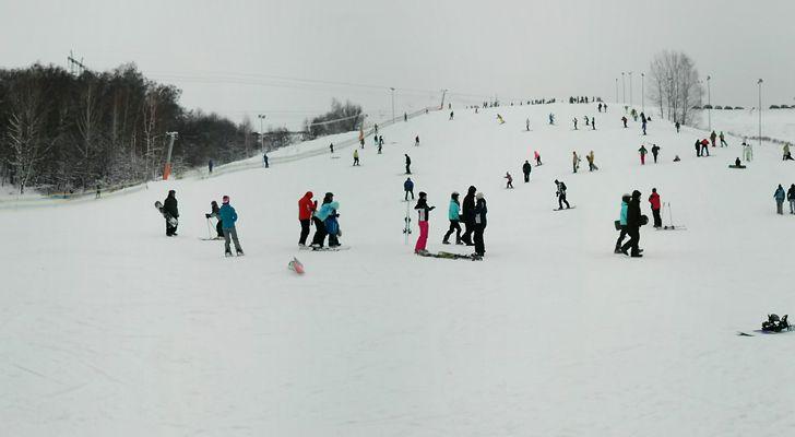 Гвоздов новый горнолыжный комплекс возле Киева фото