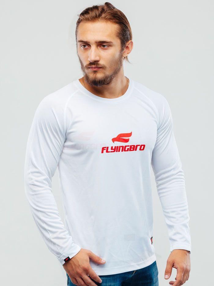 Спортивная мужская футболка snow white, купить в Украине, цена, Flyingbro