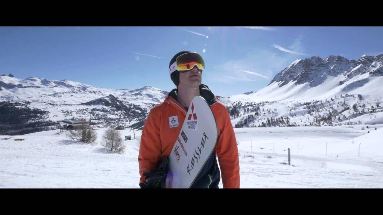 Рекорд скорости на сноуборде побит в 2016 году