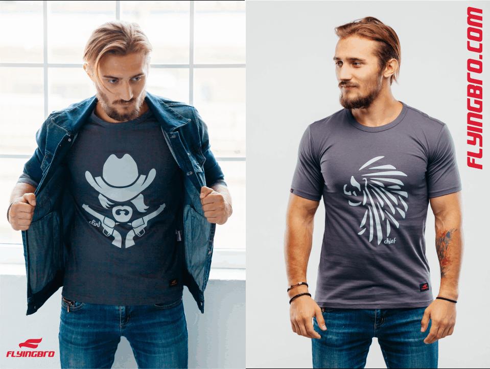 Как купить спортивную футболку с рисунком и стать уникальным