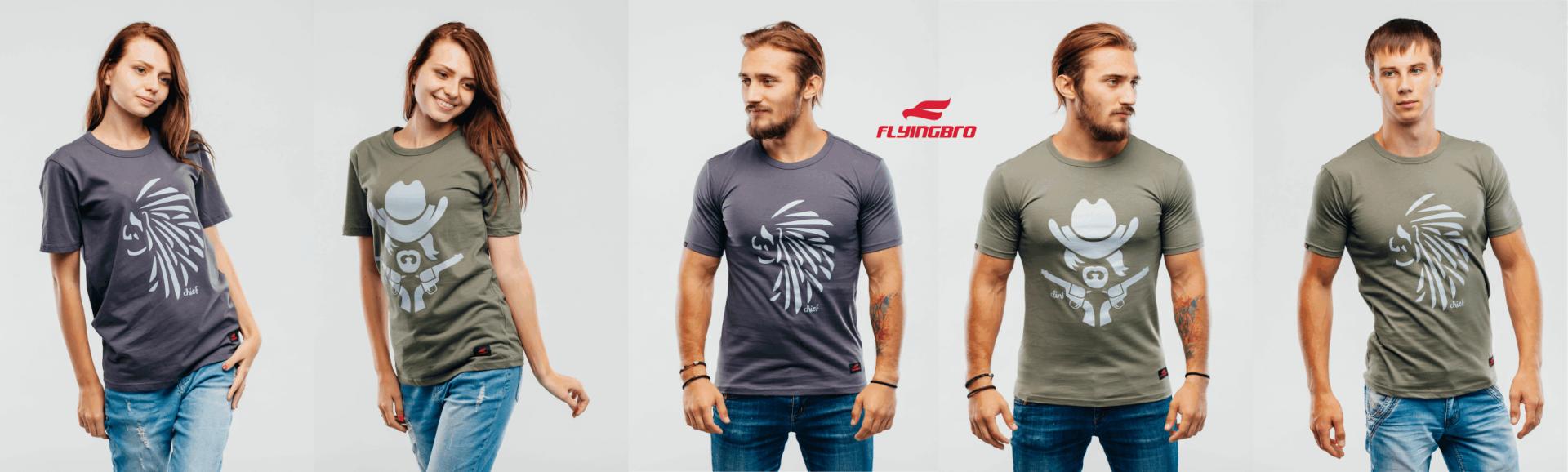 Купить футболку с принтом: как появилась печать на футболках