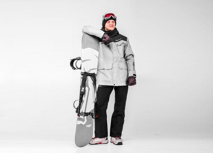 крепление для сноубординга и бафф