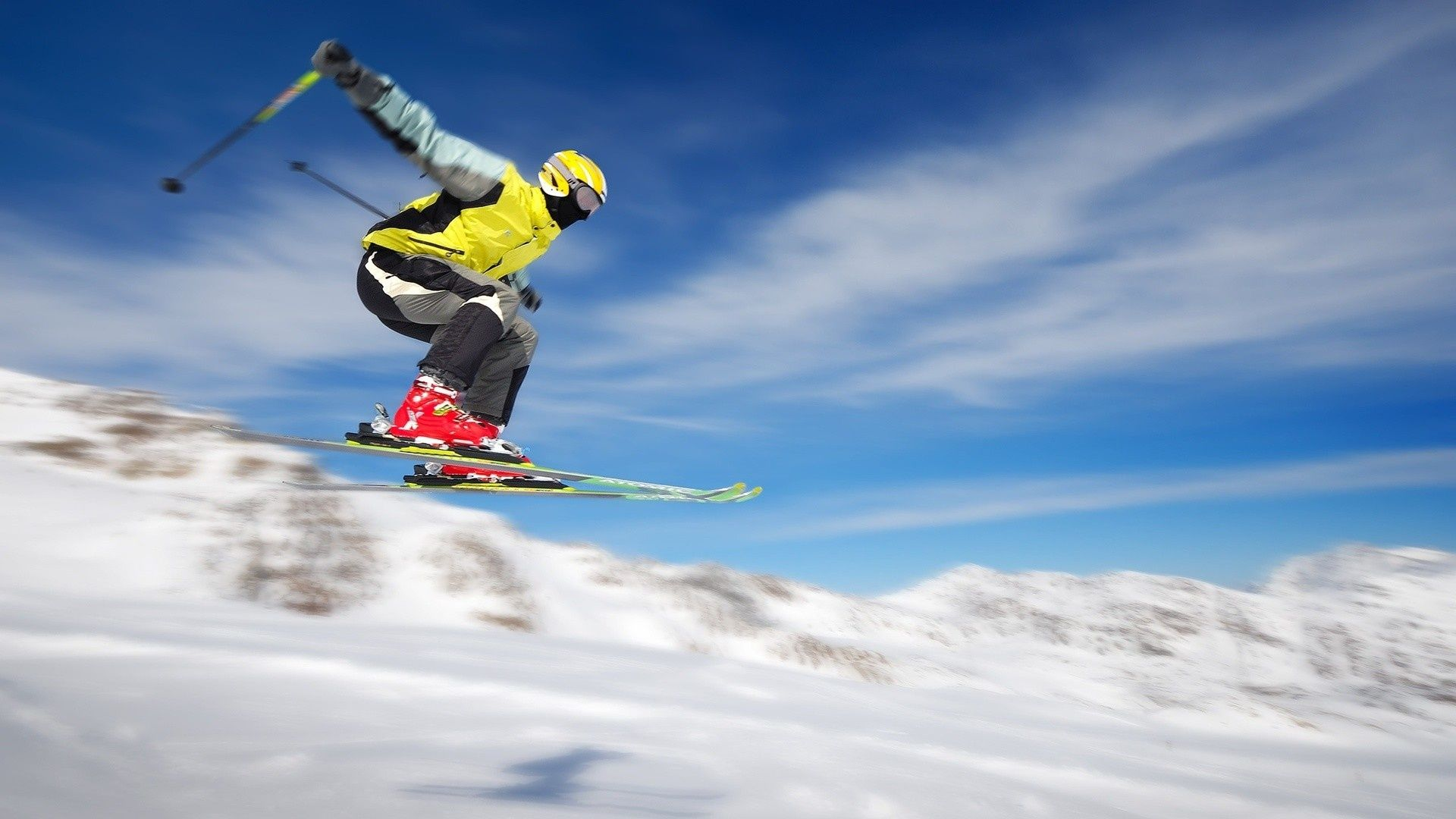 горные лыжи, советы начинающим, повязка на голову