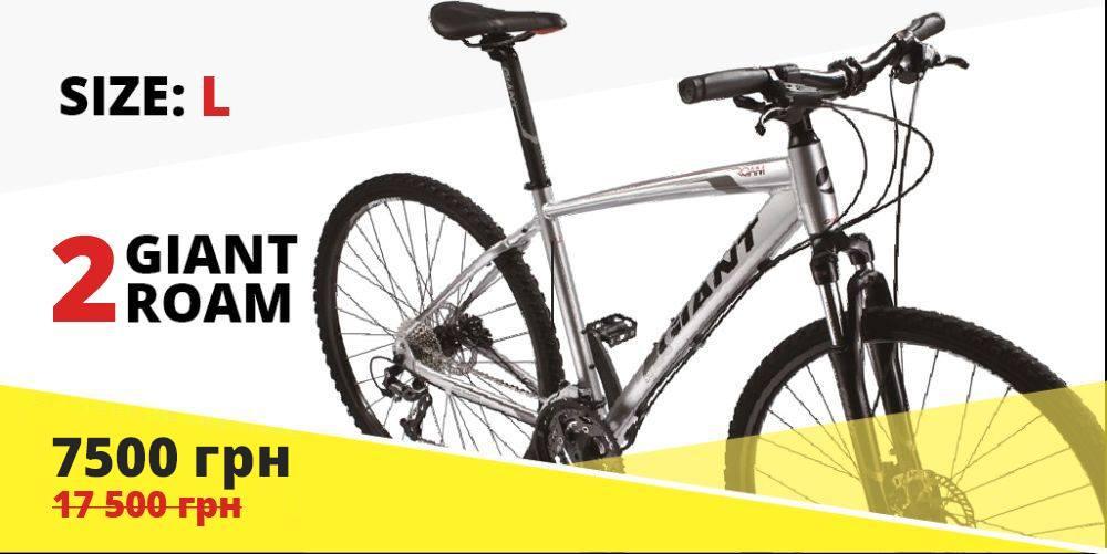 Велосипед спортивный Giant Roam 2 по суперцене