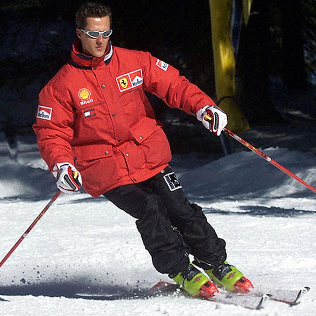 Шумахер на горно-лыжном курорте