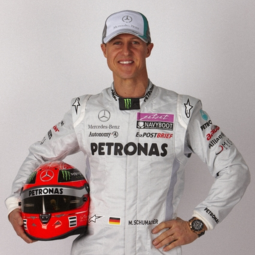 "Шумахер в форме ""Mercedes GP"""