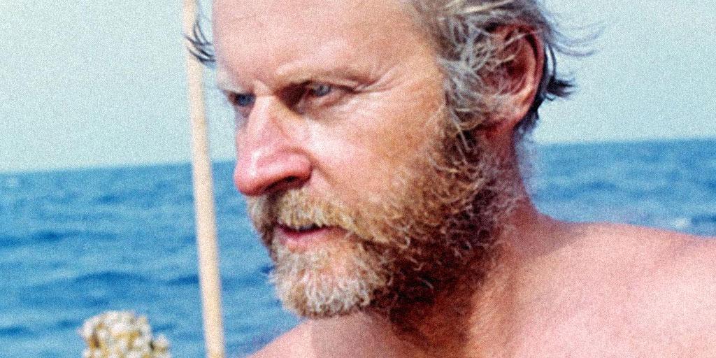 Тур Хейердал — великий мореплаватель, который боялся воды
