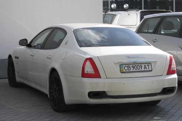 Ярмоленко Maserati