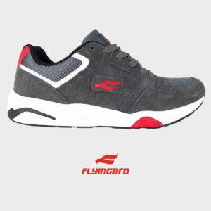 мужские кроссовки из кожи Flyingbro