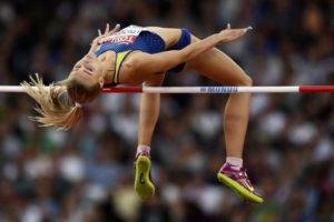 олимпийский прыжек Юлии Левченко