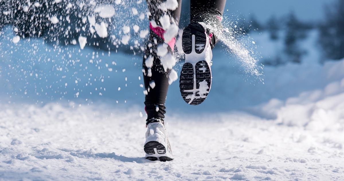 обувь для бега зимой по улице