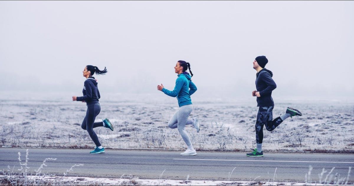 как правильно бегать зимой по улице